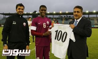 بلال محمد لاعب قطر
