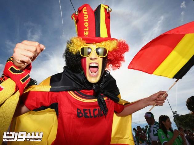 بلجيكا الجزائر 1