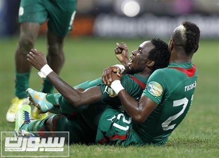 بوركينا فاسو تهزم توجو 1-صفر وتصعد لقبل نهائي بطولة افريقيا