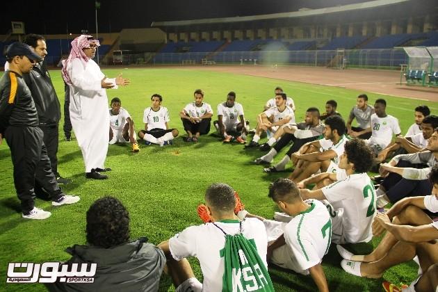تدريبات المنتخب الاولمبي (2) 