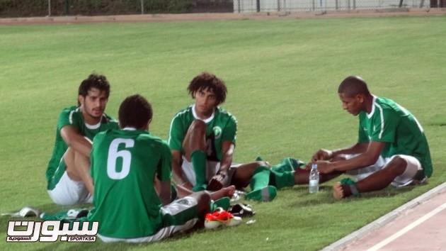 تدريبات المنتخب الاولمبي 2