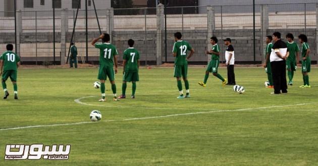 تدريبات المنتخب الاولمبي 6