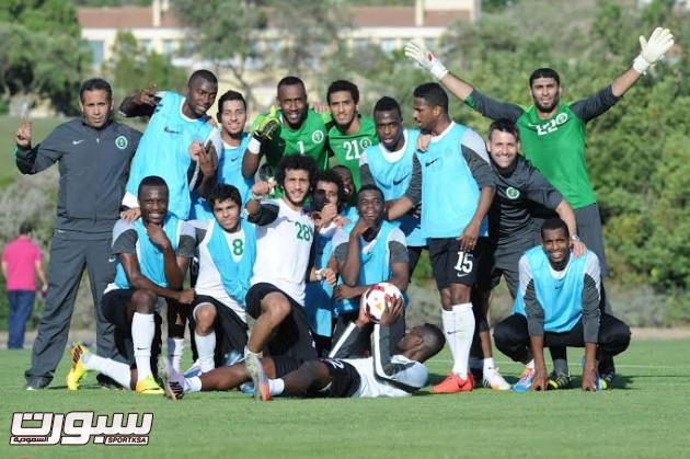 تدريبات المنتخب السعودي الأول لكرة القدم 2014  - 1