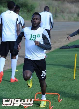 تدريبات المنتخب السعودي الأول لكرة القدم 2014  - 10