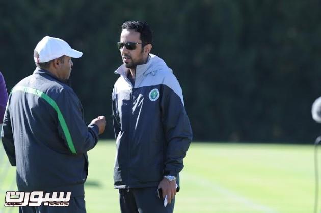 تدريبات المنتخب السعودي الأول لكرة القدم 2014 -14