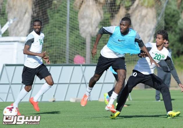 تدريبات المنتخب السعودي الأول لكرة القدم 2014 16