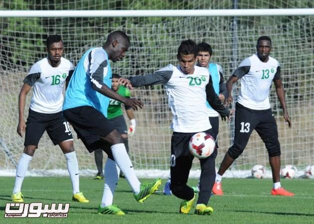 تدريبات المنتخب السعودي الأول لكرة القدم 2014 17