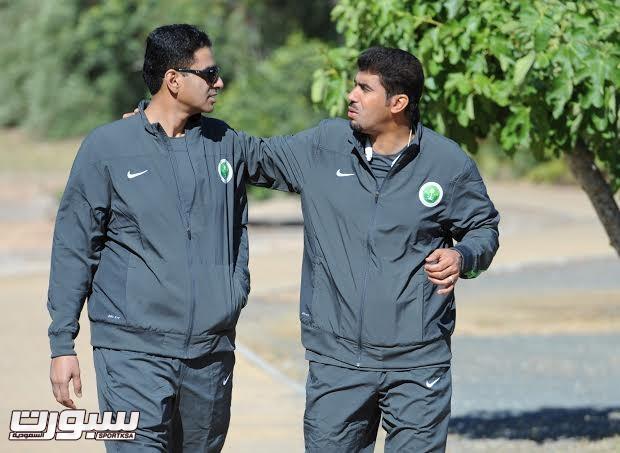 تدريبات المنتخب السعودي الأول لكرة القدم 2014 -2