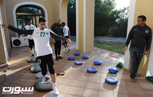 تدريبات المنتخب السعودي الأول لكرة القدم 2014 20