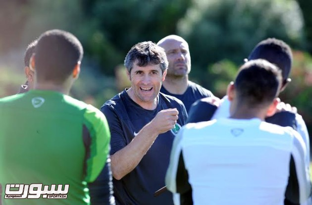 تدريبات المنتخب السعودي الأول لكرة القدم 2014 - 3 كارو