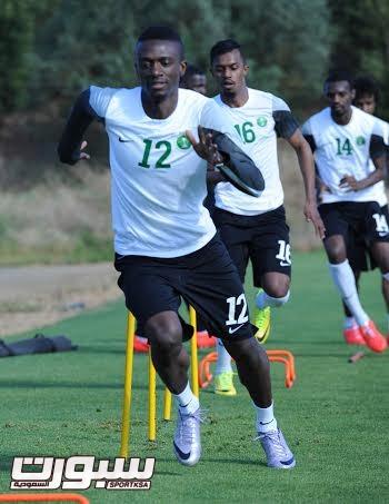 تدريبات المنتخب السعودي الأول لكرة القدم 2014 - 5
