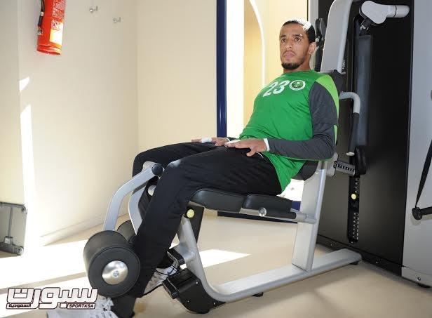 تدريبات المنتخب السعودي الأول لكرة القدم 2014 -7