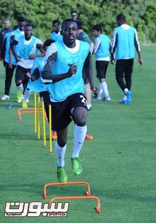 تدريبات المنتخب السعودي الأول لكرة القدم 2014 - 8