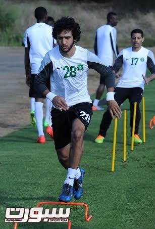 تدريبات المنتخب السعودي الأول لكرة القدم 2014 - 9
