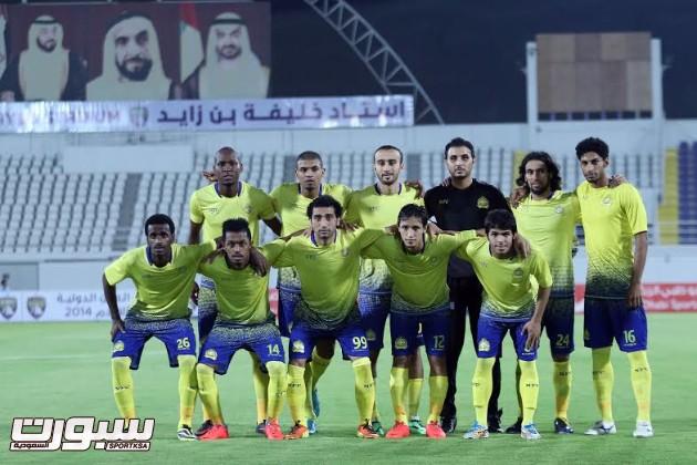 تدريبات النصر 3 - 2014