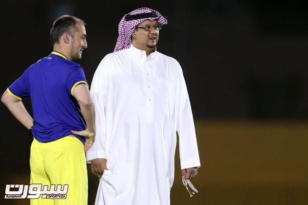 تدريبات النصر 6 فيصل بن تركي رئيس النصر كانيدا