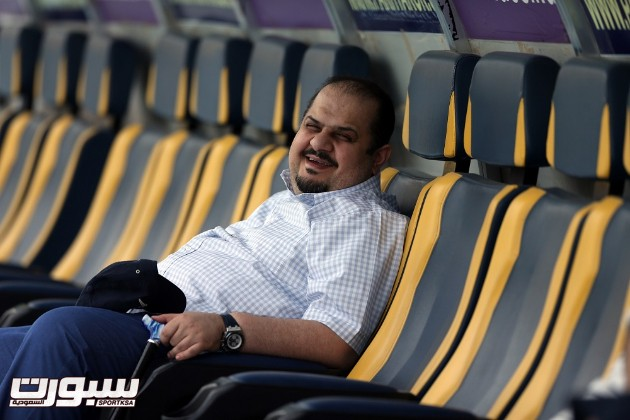 عبدالرحمن بن مساعد رئيس نادي الهلال