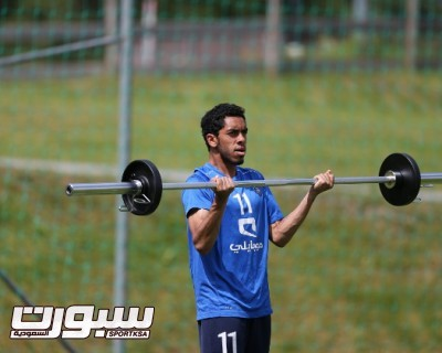 تدريبات الهلال 2 عبدالعزيز الدوسري