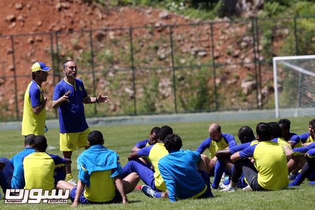 تدريب النصر في تركيا