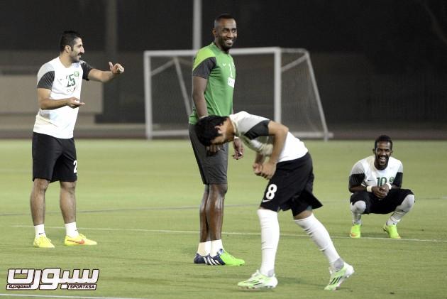 تمارين المنتخب لدورة الخليج06