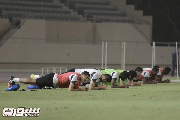 تمارين المنتخب لدورة الخليج10