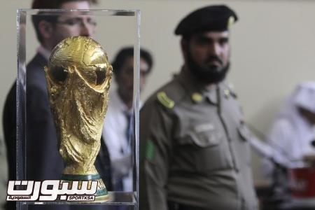 وصول كأس العالم الى قطر في زيارة تستغرق ثلاثة ايام
