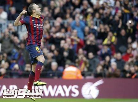برشلونة: انيستا يوافق على تمديد عقده لثلاث سنوات مع الفريق