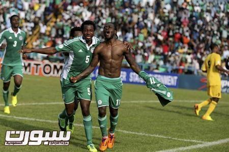 نيجيريا تتأهل إلى نهائيات كأس العالم بعد التفوق على اثيوبيا