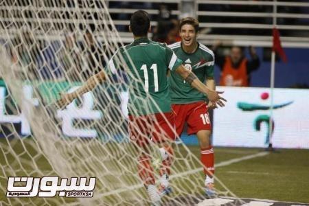 المكسيك تسحق كوريا الجنوبية في مباراة ودية