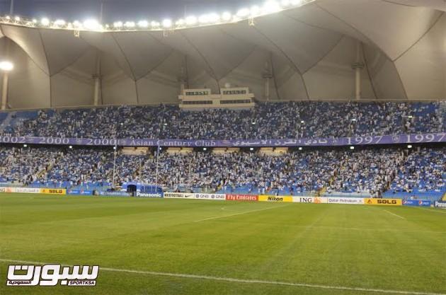 جمهور الهلال مباراة الاهلي الاماراتي