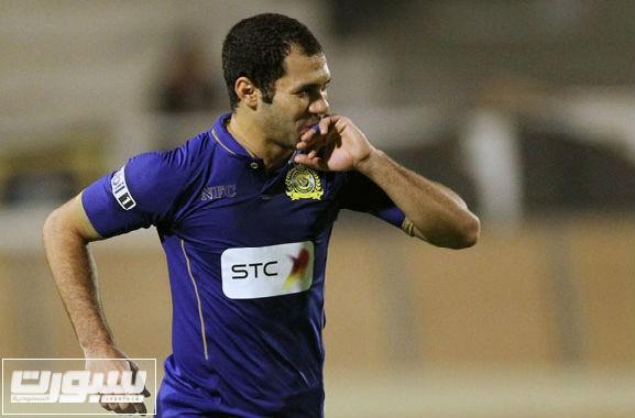 حسني عبدربه لاعب النصر السعودي