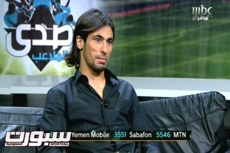 حسين عبدالغني لاعب النصر صدى الملاعب