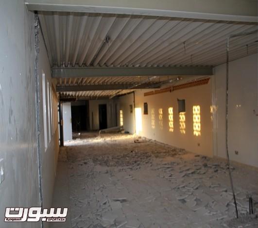 صورة للغرف بعد التوسعة