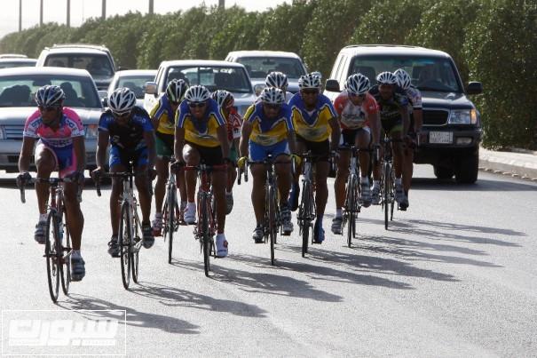 صورة من أحدى سبابقات الدراجات