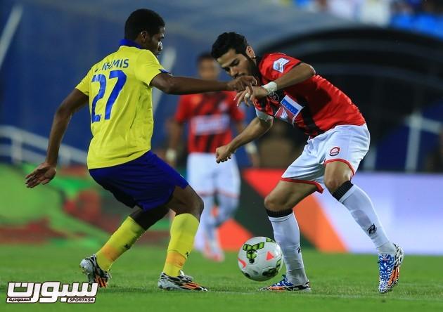 صور الشوط الأول ( مباراة الرائد النصر ) دوري جميل  (1)