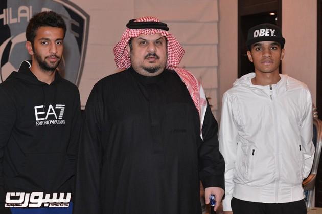 عبدالله الشامخ ومحمد البريك