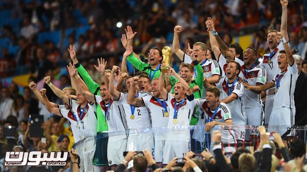 فرحة المانيا بكأس العالم 2014 - 10