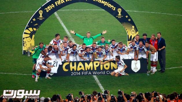 فرحة المانيا بكأس العالم 2014 - 14