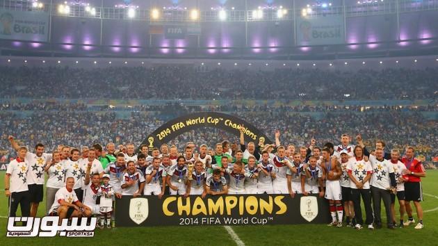 فرحة المانيا بكأس العالم 2014 - 16