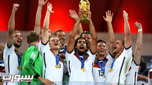 فرحة المانيا بكأس العالم 2014 - 17