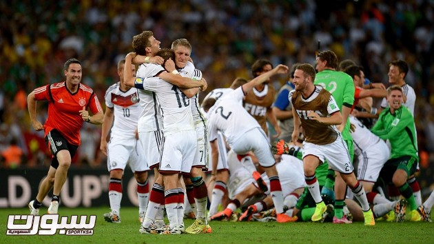 فرحة المانيا بكأس العالم 2014 - 4