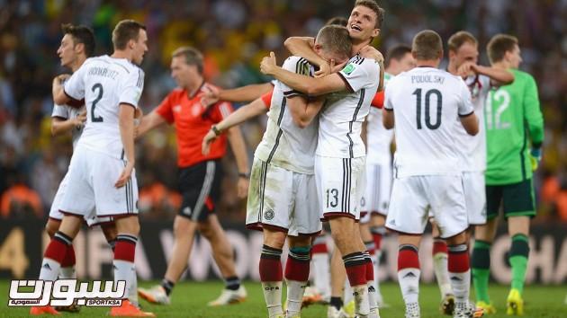 فرحة المانيا بكأس العالم 2014 - 9