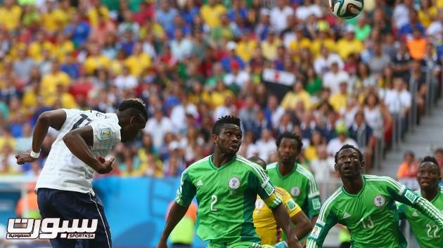 فرنسا نيجريا 16