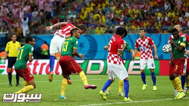 كرواتيا الكاميرون 16