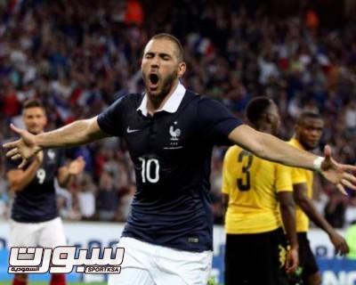 كريم بنزيمة منتخب فرنسا
