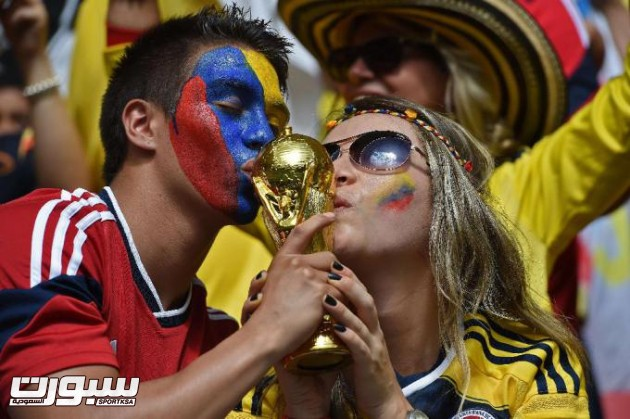 FBL-WC-2014-MATCH21-COL-CIV-FANS