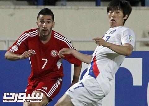 لبنان وكوريا