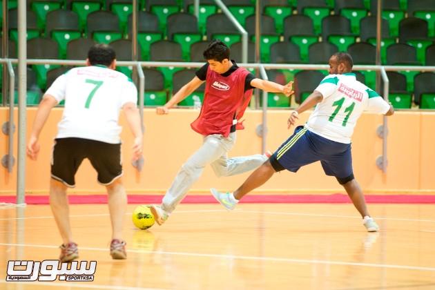 مباراة صحيفة الرياضية والقناة الرياضية السعودية