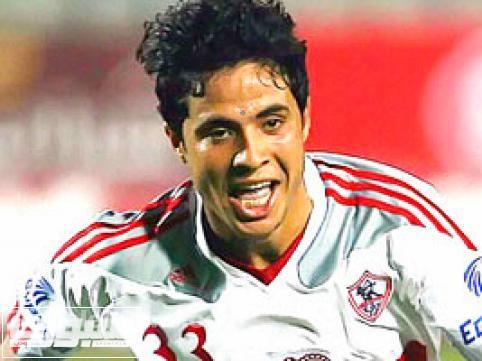 محمد ابراهيم لاعب الزمالك المصري