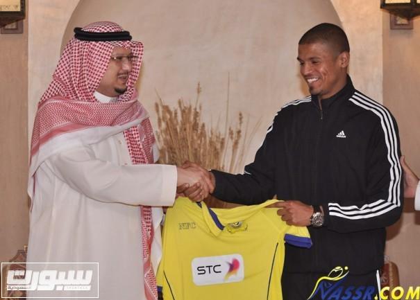 محمد حسين لاعب النصر السعودي